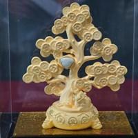 Jual Pajangan Pohon Keberuntungan Lapisan Emas  2