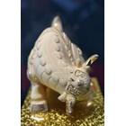 Pajangan Patung Sapi Lapisan Emas Dekorasi Rumah  4