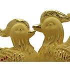 Souvenir Pernikahan Sepasang Yuanyang(Bebek) Lapisan Emas 7