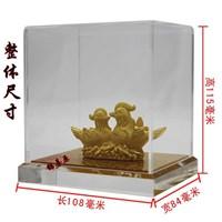 Distributor Souvenir Pernikahan Sepasang Yuanyang(Bebek) Lapisan Emas 3