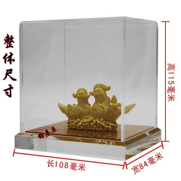 Souvenir Pernikahan Sepasang Yuanyang(Bebek) Lapisan Emas