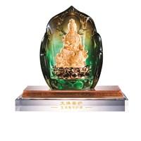 Jual Patung Tembaga Lapis Emas 24 K Pajangan Buddha