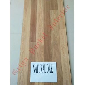 Lantai Kayu Parket Type Natural Oak