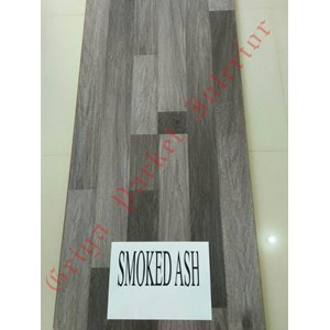 Lantai Kayu Parket Type Smoked Ash