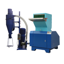 Sound Proof Crusher (20 HP) with Cyclone + Blower + Dust Collector system