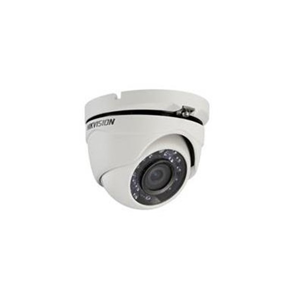 Turbo HD Dome Hikvision 1MP Steel