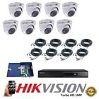 Paket 8 CCTV TurboHD 1MP 2