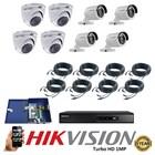 Paket 8 CCTV TurboHD 1MP 1
