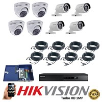 CCTV 8 1MP TurboHD packages