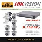 PAKET KAMERA CCTV 8 pcs TurboHD 2MP (TANPA PEMASANGAN) 1