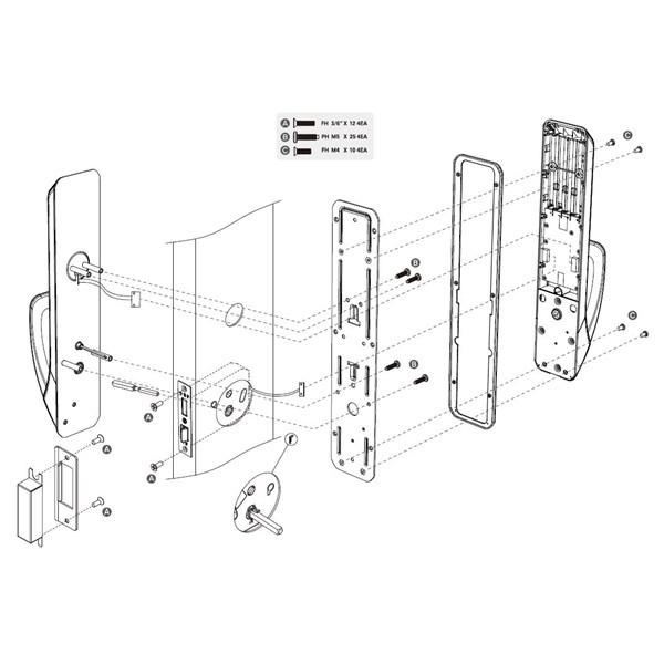 CDL-200P / CDL-220PB (Smart Door Lock)
