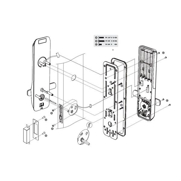 CDL-210L (Smart Door Lock)