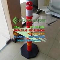 Stick Cone Plastik  -  Keamanan Jalan Kendaraan