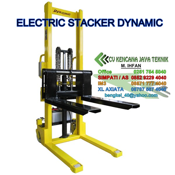 Hand Stacker Electric Dynamic