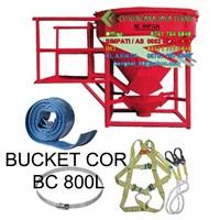 Bucket Cor 800L -  Concrete Bucket 1