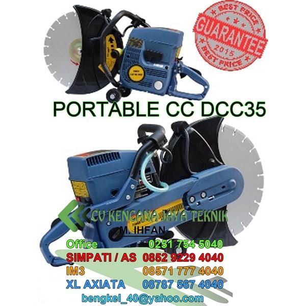 Portable Concrate Cutter Dcc35 - Pisau Cutter