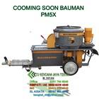 Worm Pump Pm5 Dan Pm 5X ~ Plaster Machine - Mesin Beton 1