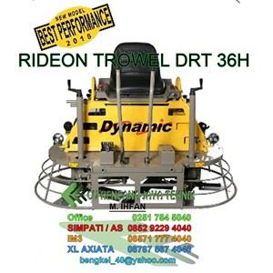 Ride-On Power Trowel -  Concrete Power Trowel