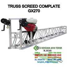 Concrete Truss Screed -  Truss Screed