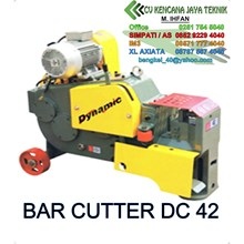 Bar Cutter Dc42 -   Mesin Potong Besi