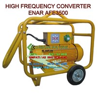 Jual High Frequency Converter Enar Afe3500 - Mesin Beton