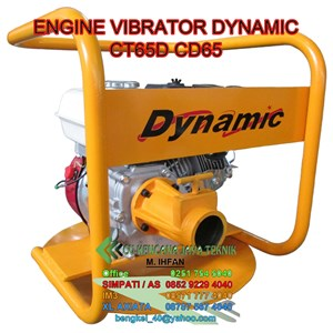 Engine Vibrator Dynamic Ct65d - Vibrator Beton