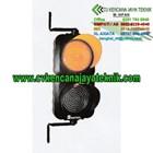 Lampu Rambu Lalu lintas Warning Light 2 Aspek 20 Cm - Lampu Led 1