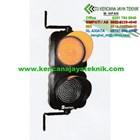 Lampu Rambu Lalu lintas Warning Light 2 Aspek 20 Cm - Lampu Led 2