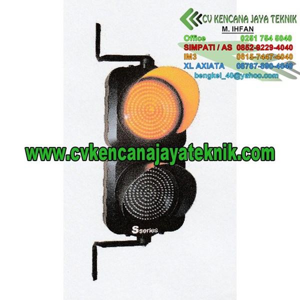 Lampu Rambu Lalu lintas Warning Light 2 Aspek 20 Cm - Lampu Led