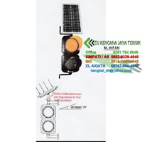 Warning Light 2 Aspek 20 Cm - Lampu LED