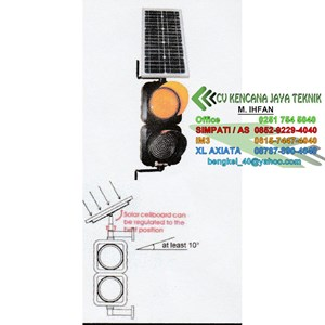 Traffic Light Lamp 2 Aspects 20 Cm