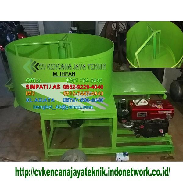 Mesin Mixer Batako - Concrete Paving Machine