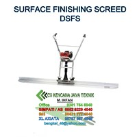 Surface Finishing Screed Dsfs 1 -  Mesin Beton