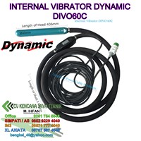 Internal Vibrator Dynamic Divo60c -  Mesin Beton