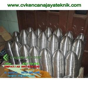 Mangkok getah aluminium -  mangkok