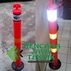 tiang antian plastik - stick cone 1