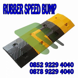 From rubber speed bump 0