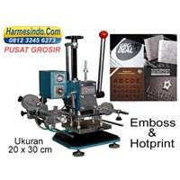 Jual Mesin Emboss Hot Print 20X30 Cetak Undangan Alat Alat Hot Stamping