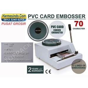 Dari Mesin Emboss Id Kartu Alat Alat Id Card Cetak Huruf Angka Timbul 0
