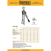 Lever Hoists (OSTEQ)