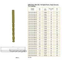Jual HSS Drill Tin Coating (Drill Bit)
