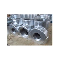 Tee Class #3000 Npt Carbon Steel Galvanize 1