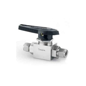 Stainless Steel 3-Piece High Pressure Alternative Fuel Service Ball Valve 7.1 Cv 3.4 in. Swagelok Tube Fitting