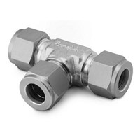 Swagelok Tube Fitting. Union Tee. 1.4 in. Tube OD 1