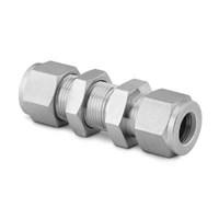 Swagelok Tube Fittings Stainless Steel Bulkhead Union 1.4 in. Tube OD 1