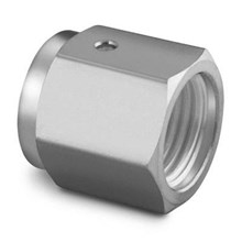 Swagelok 316 Stainless Steel VCR Face Seal Fitting 1.4 in. Female Nut