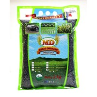 Jual Beras Organik Md Black Rice Kupas Kulit 2Kg
