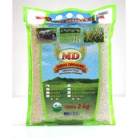 Organic Rice Md White (Pandan Wangi) 2 kg