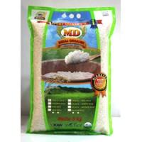 Jual Beras Organik Md White Rice (Ciherang) 5Kg