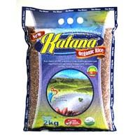 Jual Beras Organik Katana Red Rice Pecah Kulit 2Kg
